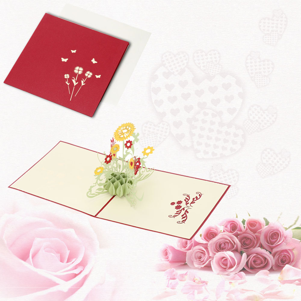 Для мая, открытки складывающиеся с днем рождения