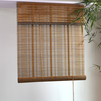 home rustique bamboo shade roman blinds inch product arlo height free garden with