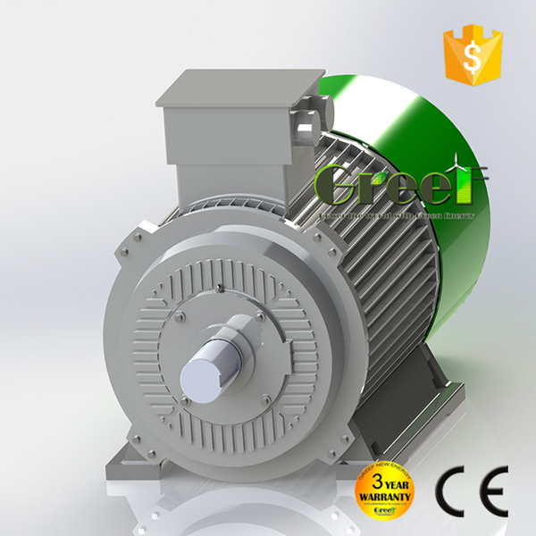 Low rpm ac 3 phase permanent magnet synchronous generator/ low speed magnetic alternator