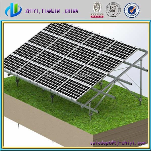 roof mounted racking system aluminum solar pv bracket solar bracket for solar mounting system