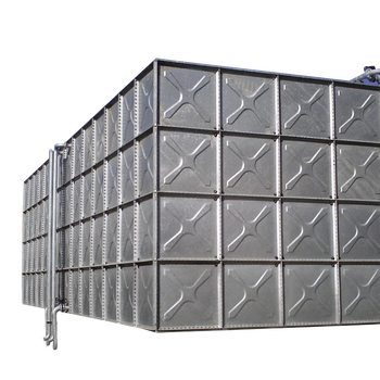 50m3 Elevated Steel Galvanized Water Tank With Steel Tower - Buy Galvanized  Water Tank,Pressed Steel Elevated Tanks,Galvanized Steel Water Tank