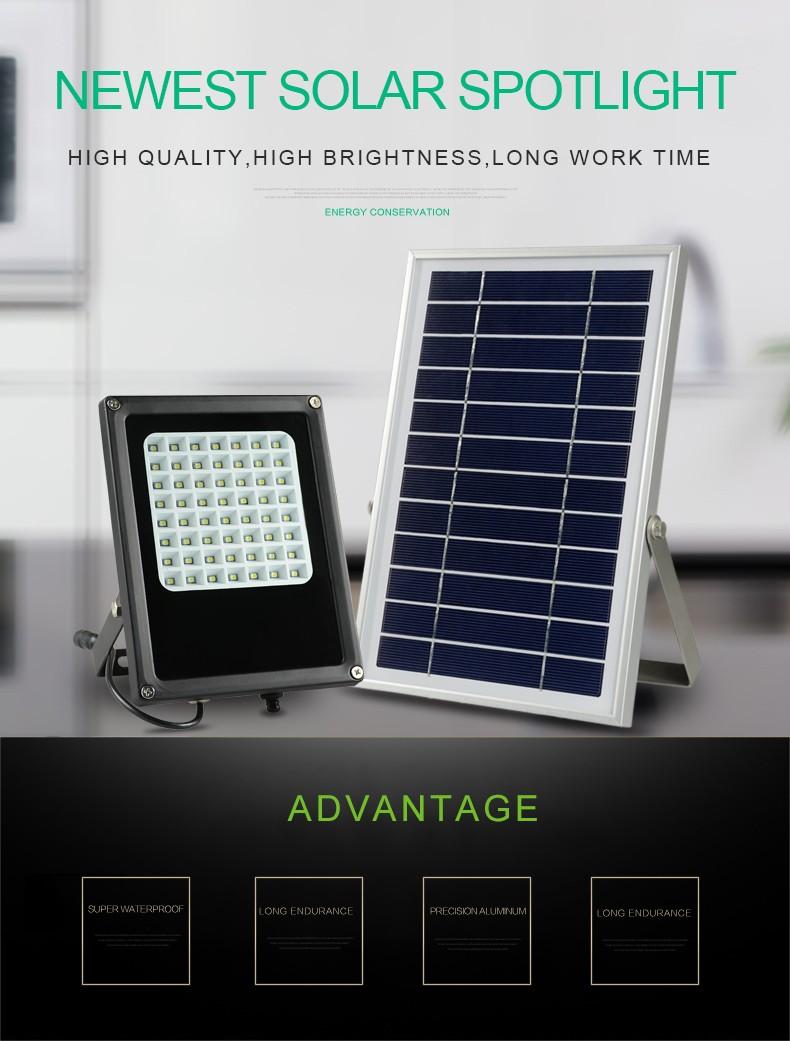 Wholesale Energy Saving Solar LED Flood Light 5W Solar Powered LED ...