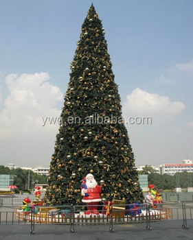 7m big christmas tree outdoor white metal lighted christmas trees