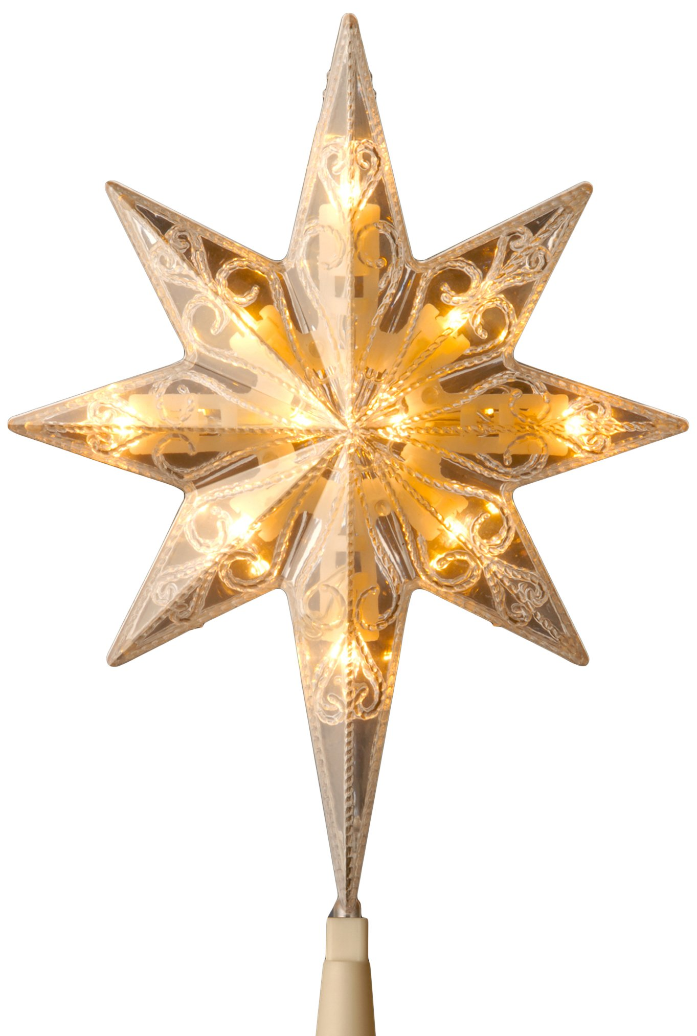 low voltage interior lighting kits%0A Get Quotations    National Tree    Inch Bethlehem Star Tree Topper with    Low  Voltage Dual Color LED Bulbs
