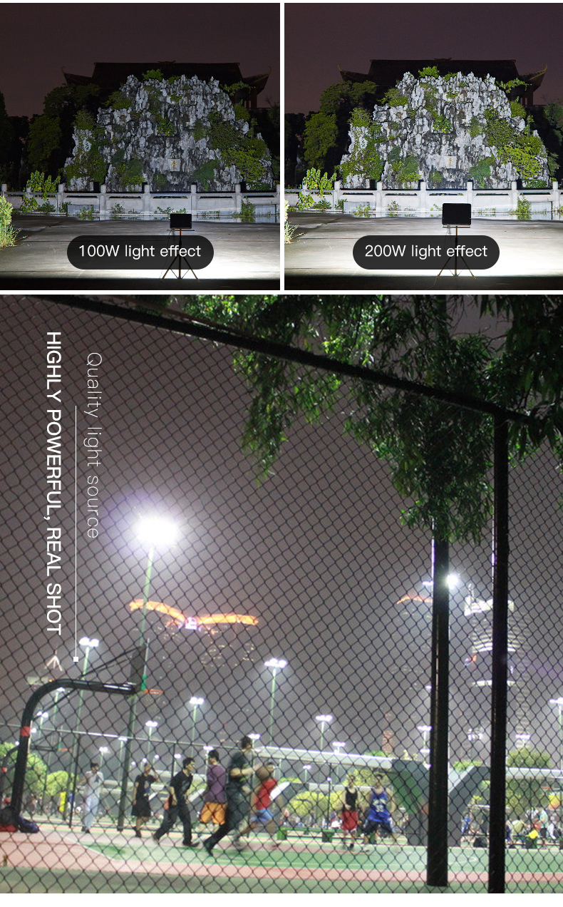 HIGH CLASS Energy saving ip66 waterproof 30 50 100 150 200 watt led flood lamp