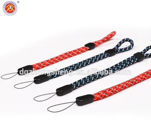 Factory Adjustable Rope Wrist Strap Hand Lanyard for Mobile Phone/Camera
