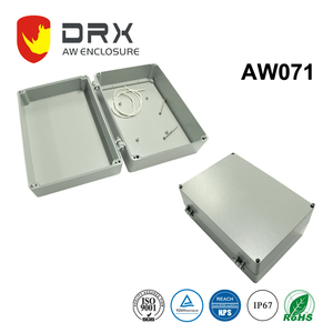 Ningbo everest AW071 Custom Junction Box Price IP67 Waterproof Outdoor Enclosure Electronic Diy Aluminum Project Box