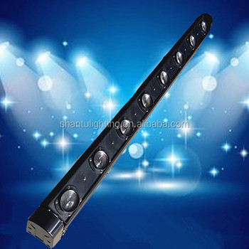 Professional Led Stage Lighting 8 Eyes Head 12w Rgbw And White Light Disco Party Moving Bar Beam