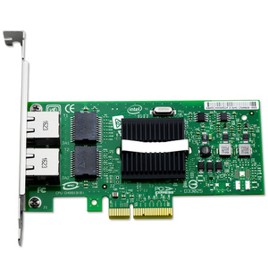 Intel EXPI9402PT Intel PRO/1000 PT Dual Port Server Adapter EXPI9402PTBLK  PCIe 1 0 X4