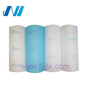Polyester bag pocket synthetic air filter media/air conditioner filter  material roll