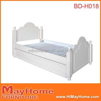 Beauty Princess White Color Wooden Single Bed With Drawer Buy Wooden Single Bed With Drawerwhite Color Drawer Single Bedprincess Wooden Single Bed