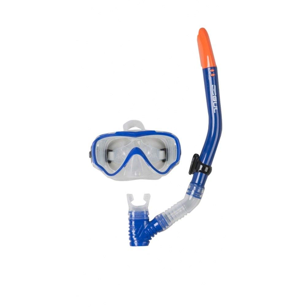 485dc31401df Get Quotations · Gul JUNIOR TARPON Mask   Snorkel Set in Blue Black GD0002