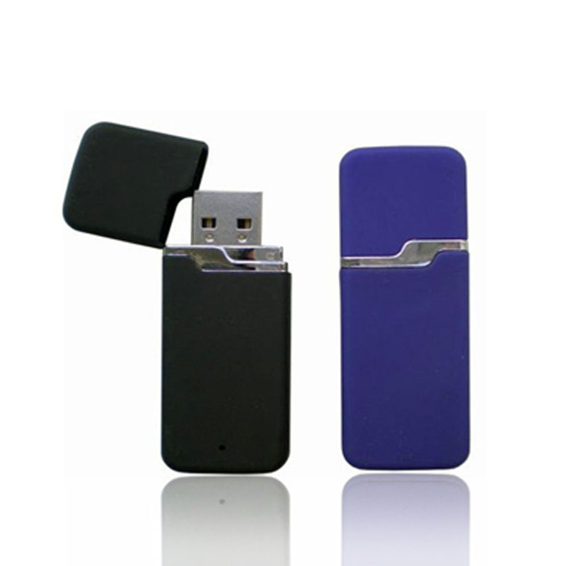 Fashionable Design 4Gb Usb Zip Drive With White Paper Box
