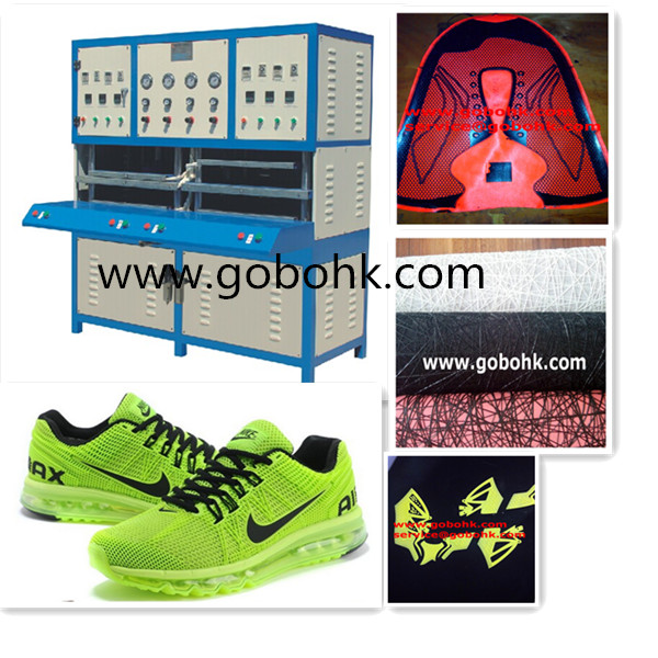 kpu sports shoe upper producing machinery/kpu injection moulding machine