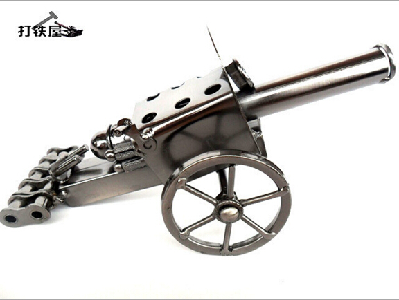Business gifts custom high-end handmade vintage cast iron cannon model