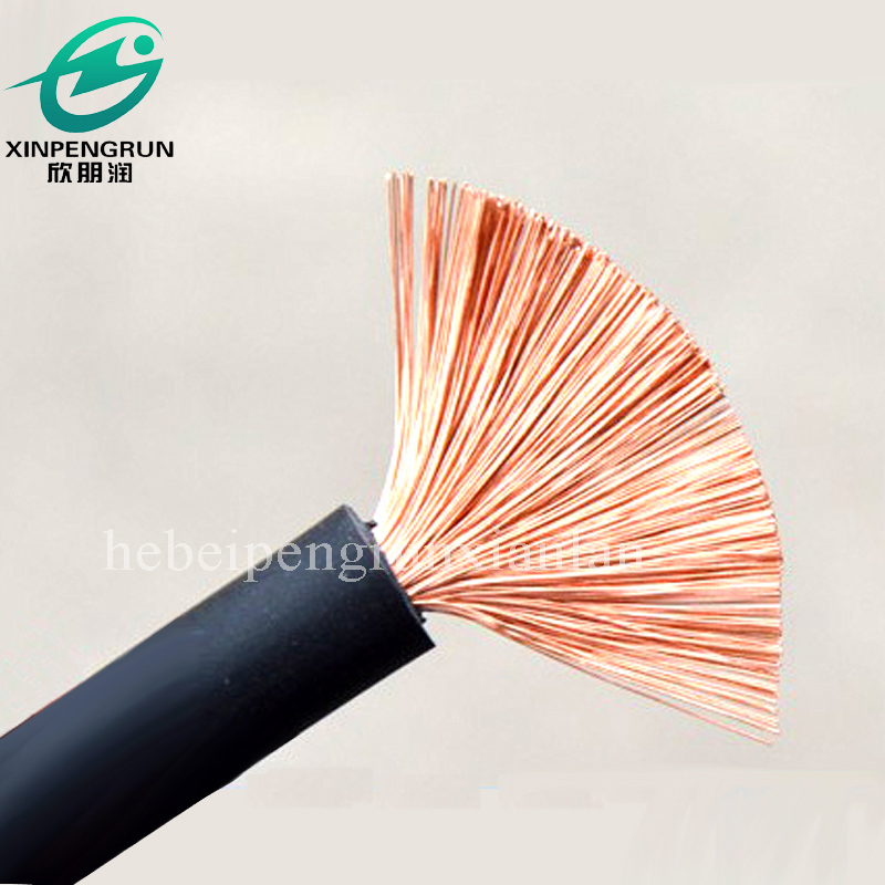 Rubber coated 120mm electrical wires and cables