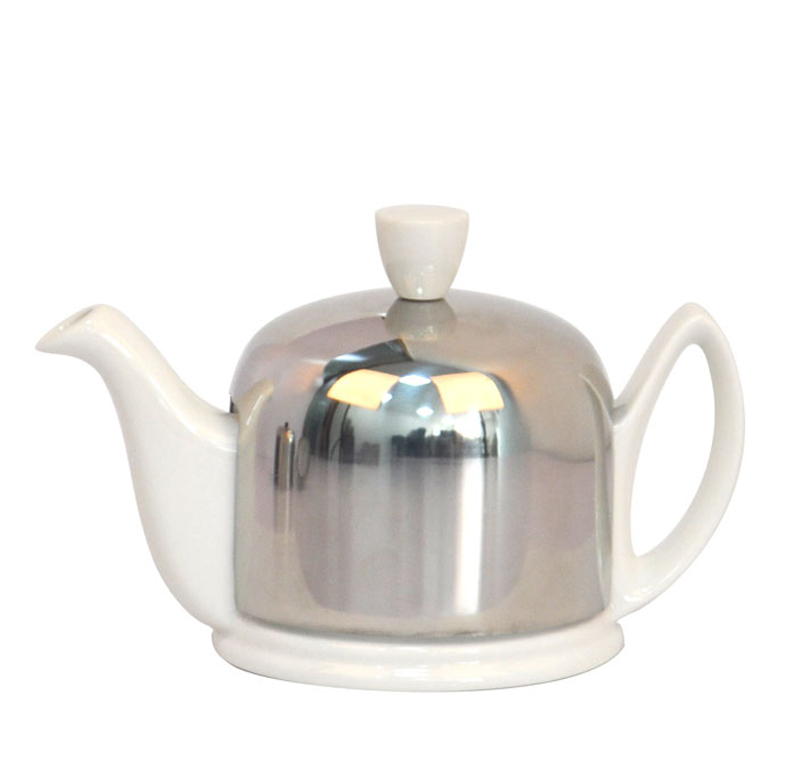 wholesale teapot with tea cozy and steel stainless infuser and cover custom in china