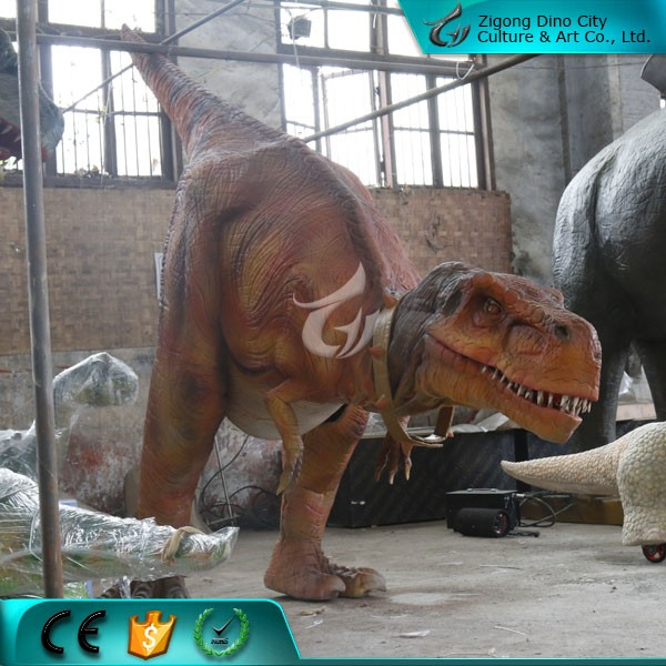 Life Size Simulated Adult Dinosaur Costume for Entertainment