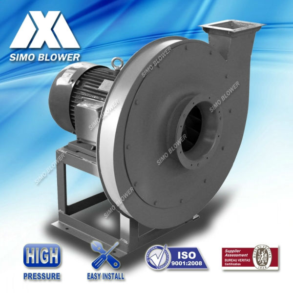 High pressure direct drivetrain single inlet industrial boiler primary Air blower fan