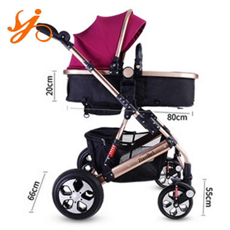 fancy baby stroller and pram / en1888 baby stroller with reversible handle / 2 in 1 baby stroller for sale