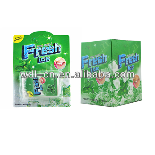 Yummy candy netto fresh strips/rainbow hard lollipop VE-F253