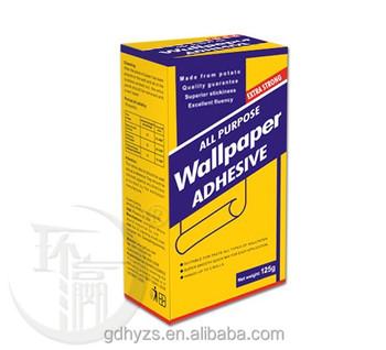 Excellent Water Solubility Wallpaper Glue Powder Metylan Glue