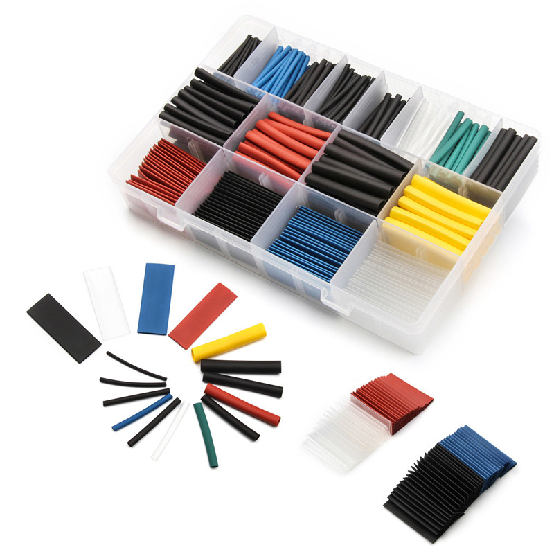 China manufacturer kit shrinkable thin wall tubing polyolefin heat shrink <strong>solder</strong> sleeve with great price