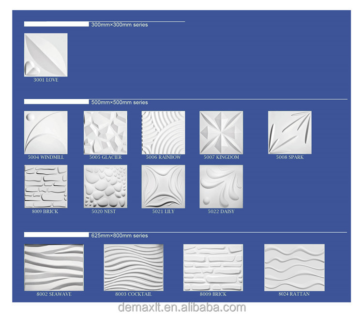 Decorative Plastic Wall Panels 3d waves decorative wall panels. embossed wall paneling wall