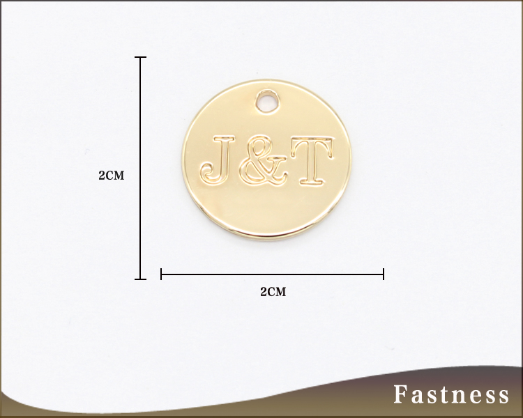 Manufacture high quality pendants gold plated hot sale metal pendants for chain
