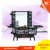 2017 hot selling caboodle cosmetic kit box with light mirror and stand cases