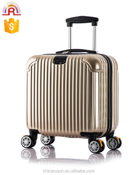 "6df3e6b26 sky travel luggage 16""18 inch suitcase boarding bag International ABS  PC Carry-On"