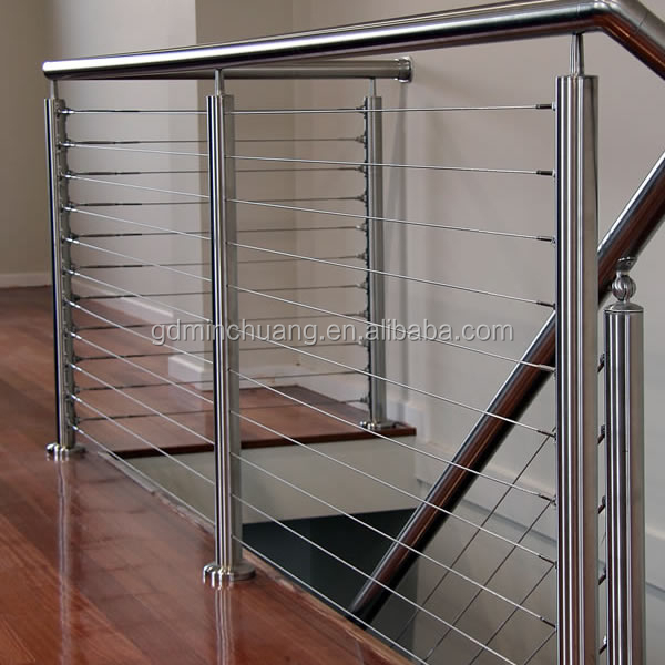 Wire Rope Handrail, Wire Rope Handrail Suppliers and Manufacturers ...