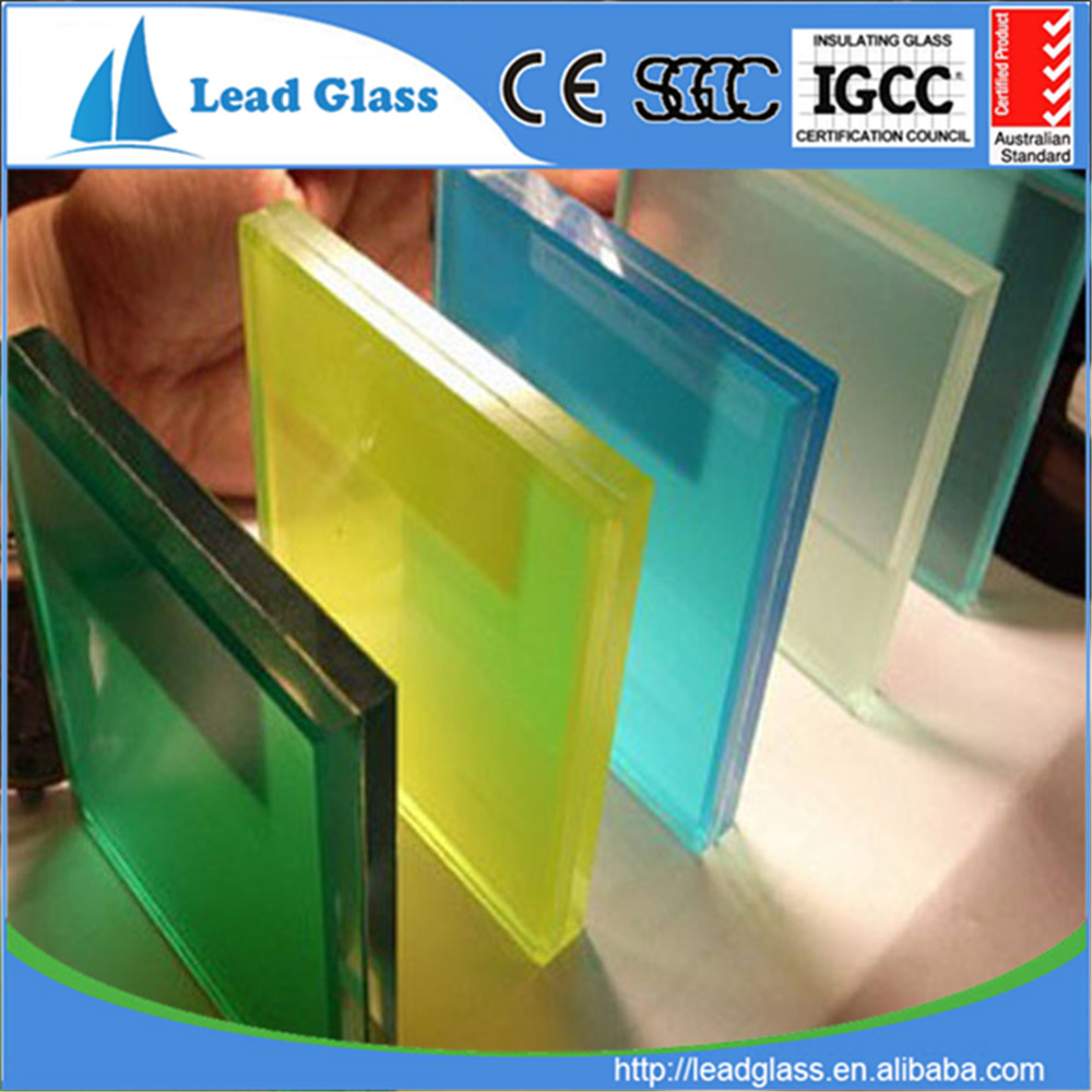 5mm 6mm wire laminated glass with EN12510-1 certification