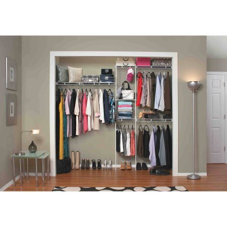 Get Quotations · Closetmaid Closet Organizer Kit, ...