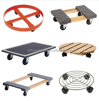 four wheels furniture moving platform trolley without. Black Bedroom Furniture Sets. Home Design Ideas