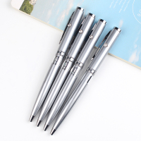 top quanlity factory directly sale light pens with custom logo metal 2 in 1 led engraved pen light