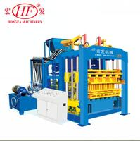 Construction Equipment Fully Automatic Concrete Block Making Machine QT10-15 Hydraulic Cement Hollow Paving Brick Block Machine