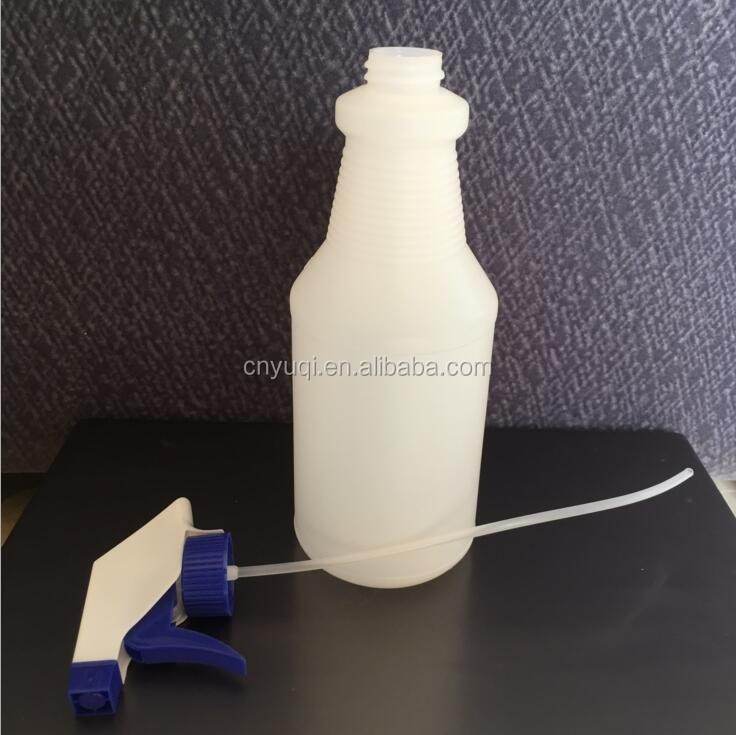 500ml,1000ml HDPE Detergent Plastic Spray Bottle, liquid detergent bottle packaging