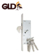 Stainless steel panel 20mm backset safety hook door lock body