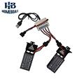 2 Pcs 3 7v 1000mah Battery and 1 to 3 USB Charger for Udi U842 U818S