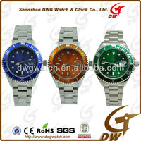 2012 New Arriving Best Waterproof Watch With Stainless Steel Case and Strap