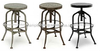 industrial metal singer stool industrial bar stool vintage industrial stools mx0280m