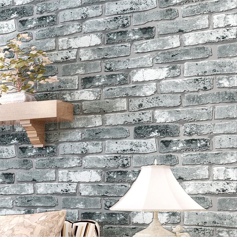 wunderbar backstein tapete wohnzimmer galerie die besten wohnideen. Black Bedroom Furniture Sets. Home Design Ideas