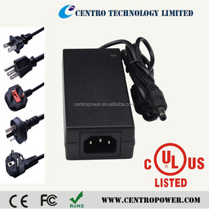 cctv power supply 12v 5amp ul ce saa certified 60w power adapter