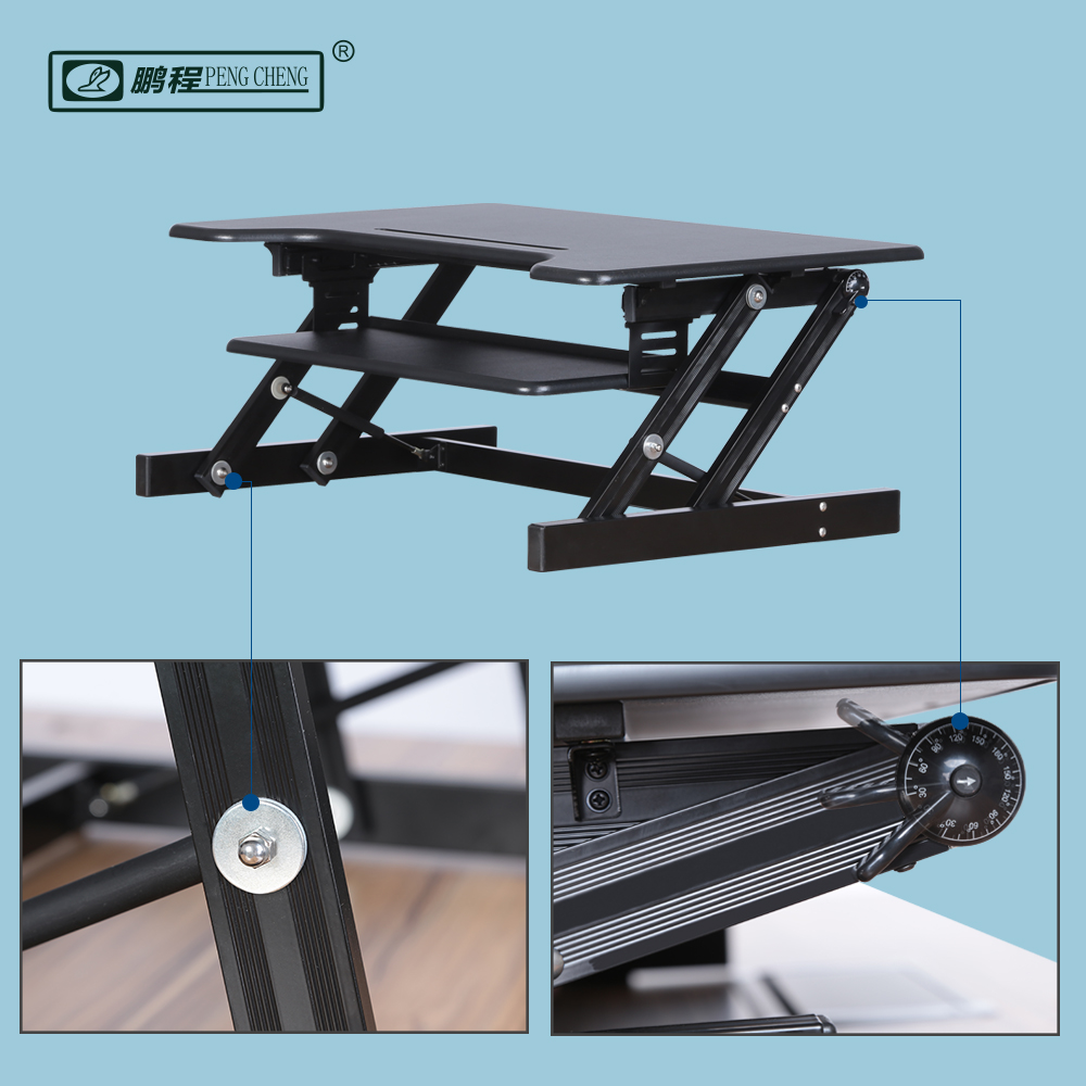 Laptop Lap stand up Adjustable Standing Desk