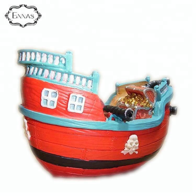 Miniatur Boot Modell Angeln Schiff Spielzeug DIY Zuhause Tischplatte Dekoration