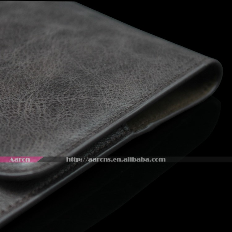 High quality genuine leather tablet bag and case for ipad pro