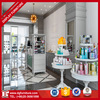 Best price cosmetic shop furniture cosmetic display stand for sale