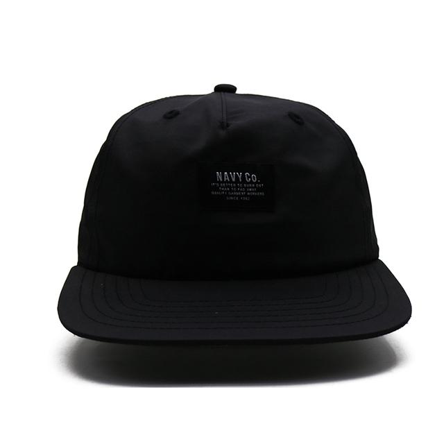 71fd8813e7ccc unconstructed custom snapback caps black brand with cap