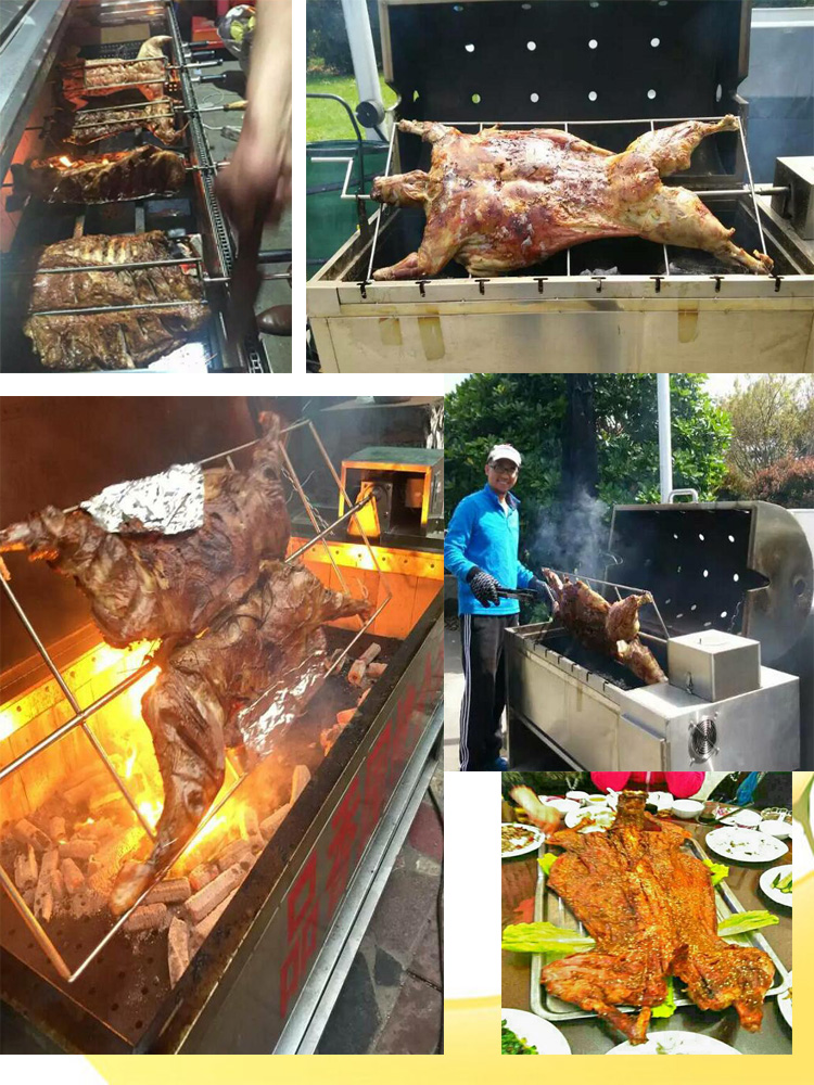 Commerciële bbq grill automatische voor restaurants